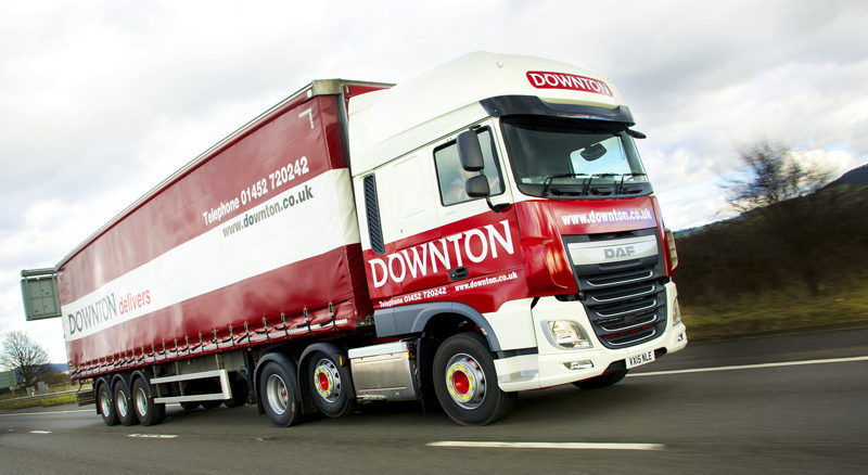 CM Downton truck on road