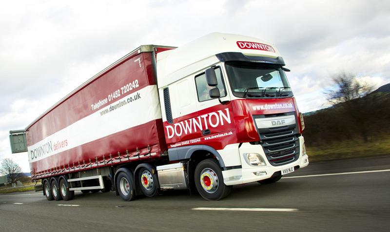CM Downton truck on road