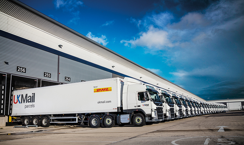 DHL owned UK Mail