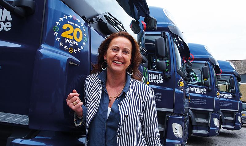 Lesley O'Brien, Freightlink