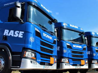 Rase Distribution truck