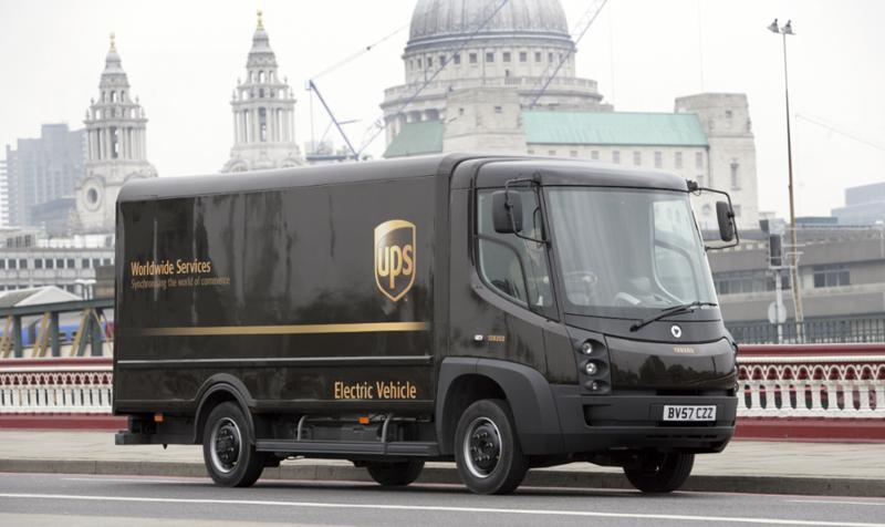 UPS electric vehicle