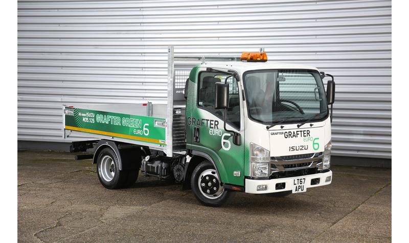 Isuzu Grafter Green launch