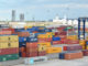 Container terminal in Teesport,