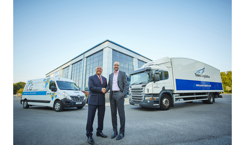 71b7f326a33 Mike Stephenson MD for ILG and Andy Fitt MD for Yusen Logistics UK -