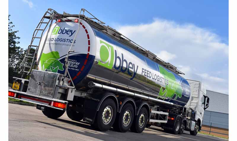 Abbey Logistics tanker truck