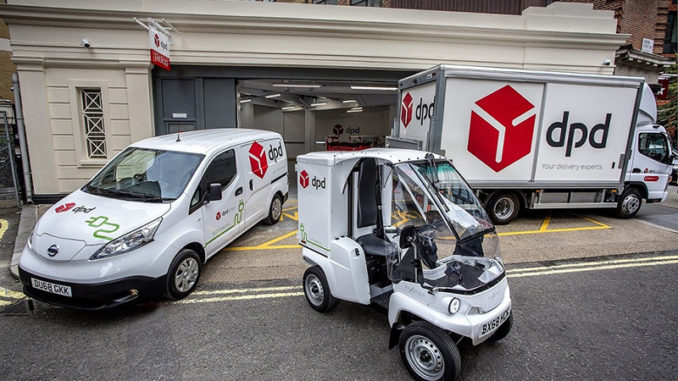 DPD UK opens its first all-electric last-mile delivery depot