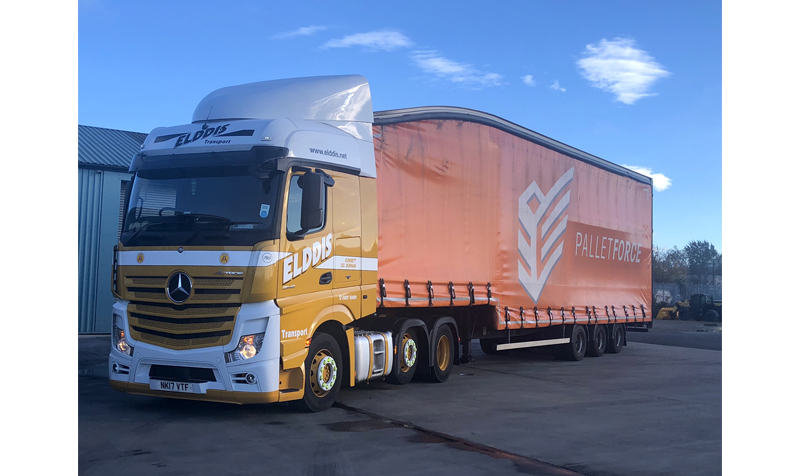 Elddis Transport joins Palletforce