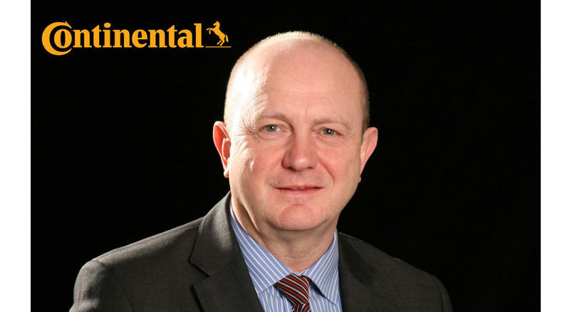 Tony Stapleton, head of fleet, Continental Tyre Group