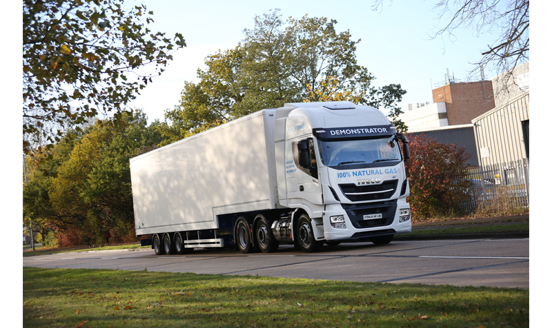 IVECO NP 6x2 on the road