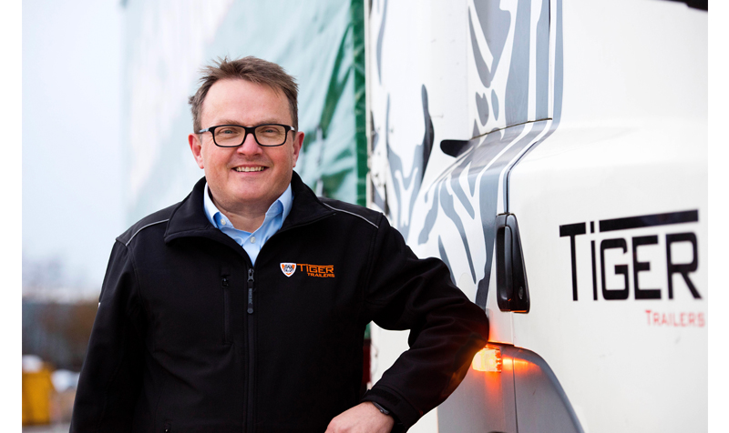 Richard Else, manufacturing director, Tiger Trailers