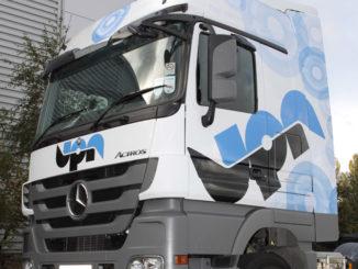 UPN liveried truck