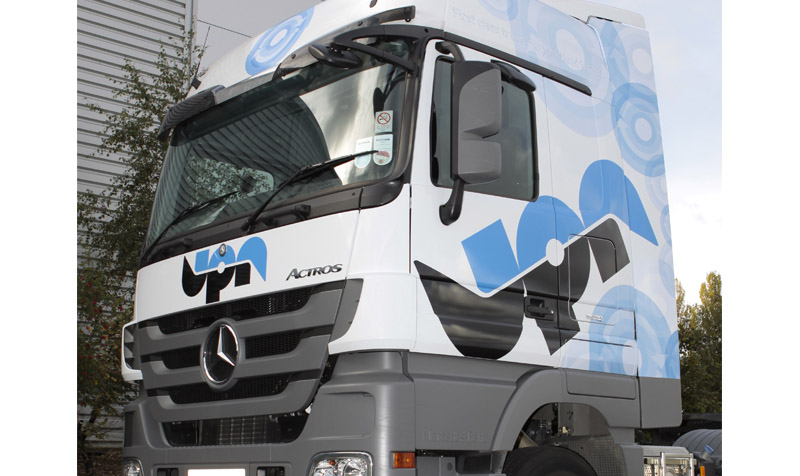 UPN liveried truck