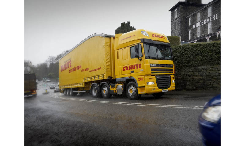 Canute tractor unit in Windermere