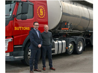 Gary Oliver and Roger Parr, operations directors, Suttons Tankers