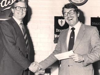 Roger Denniss (right)