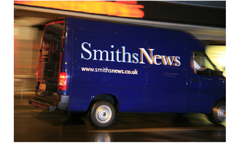 Smiths News van