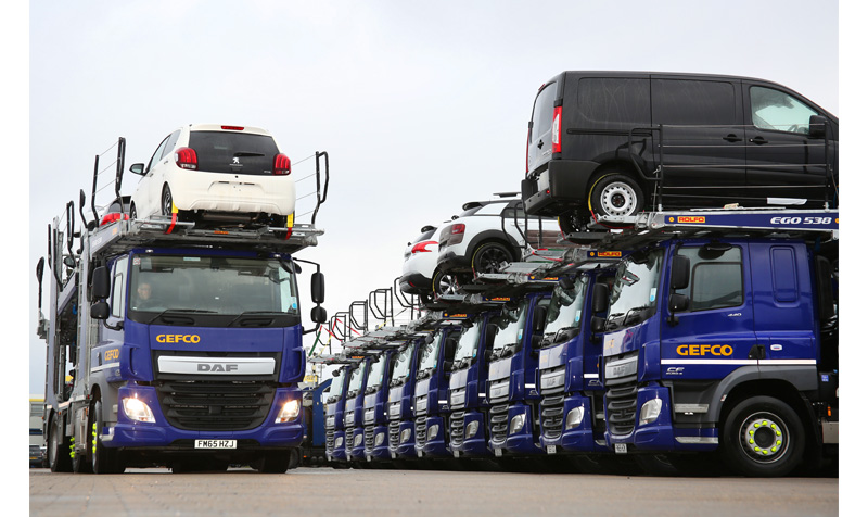 Cefco car transporters