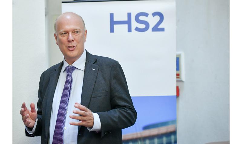 HS2, Chris Grayling