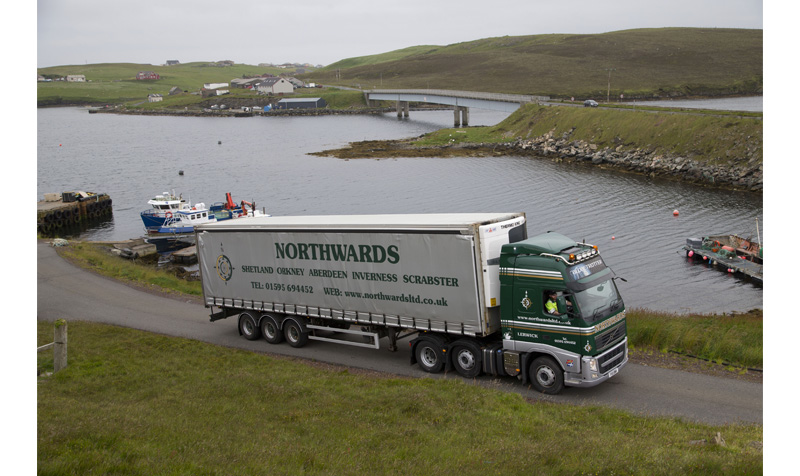 Northwards truck