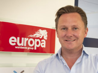 Andrew Baxter, Europa Worldwide Group