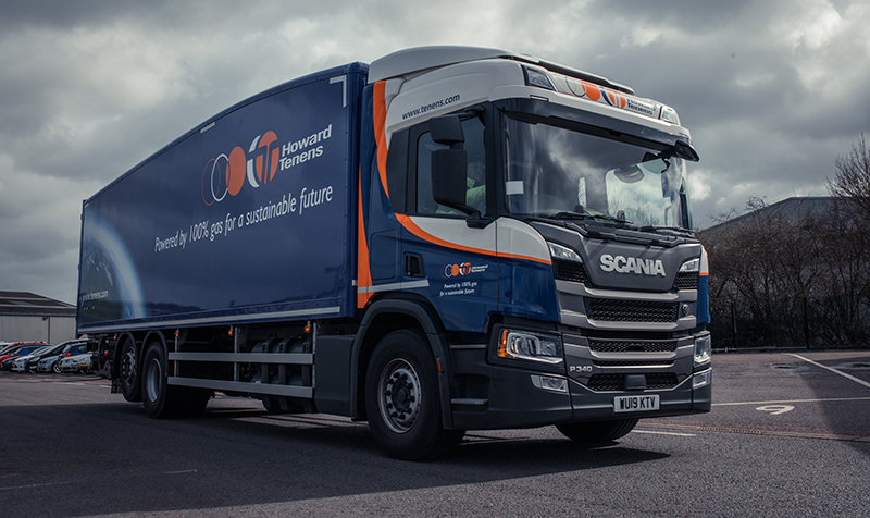 Howard Tenens adds more CNG-powered Scania rigids to fleet