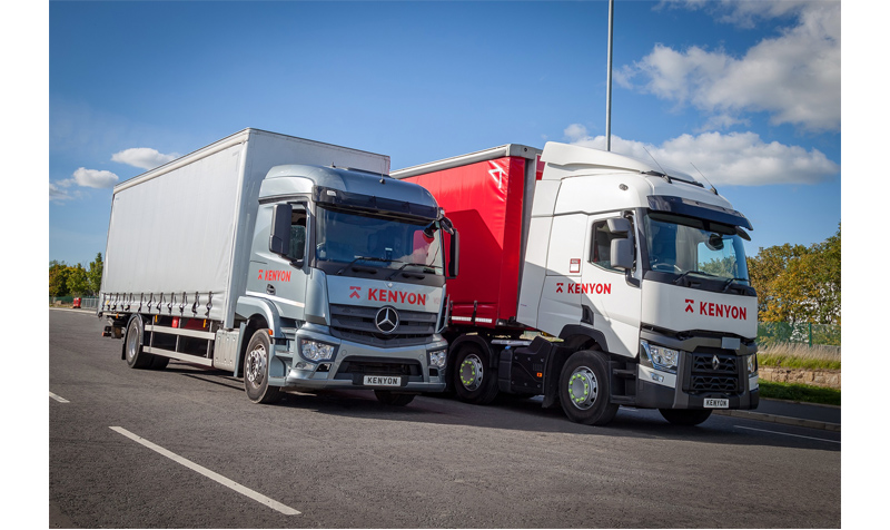 Kenyon Haulage starts running for the Fortec Distribution