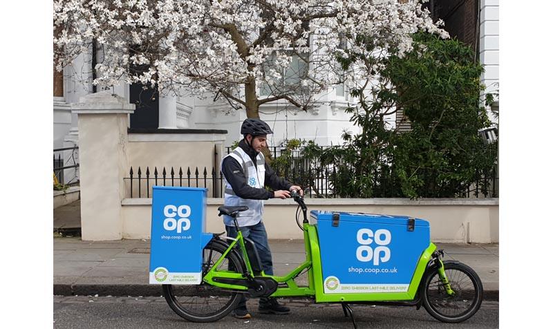 Co-op e-cargo bike