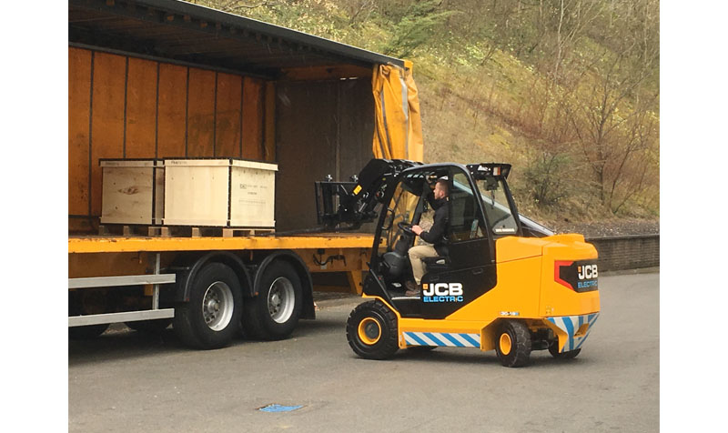 JCB electric Teletruck