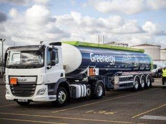 Greenergy fuel tanker