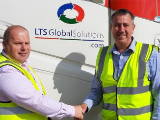 Dave Hands (L) and Jeff Broom, who heads up the new Show Freight division for LTS Global Solutions